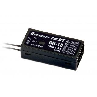 GR-18+3xG+3A Copter přijímač HoTT