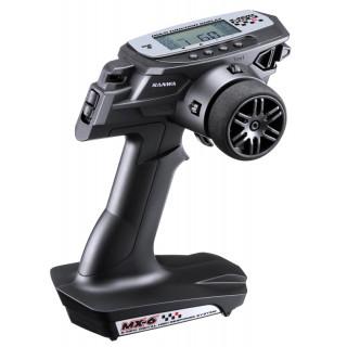 MX-6 2,4GHz s 2x RX-391W přijímačem