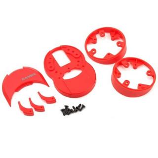 M12/M12S plastové díly (červené)