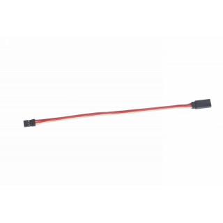 Prodlužovací kabel 100mm JR 0,1qmm silný, zlacené kontakty (PVC)