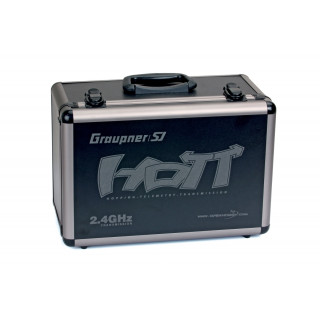 Alu-vysílačový kufr HoTT pro MZ-18 a 24