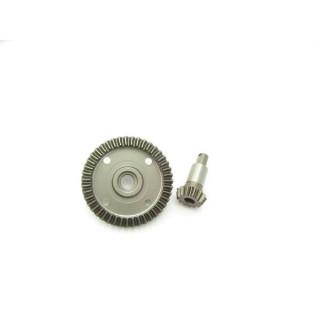 13 zubá CNC tvrzená hruška + 43 zubé CNC tvrzené talířové kolo