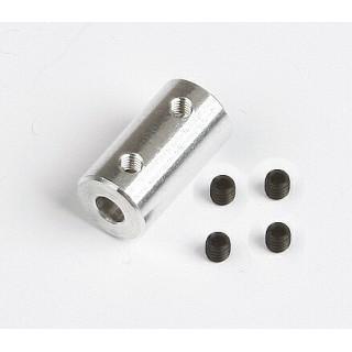 Alu spojka 4,0/4.0mm