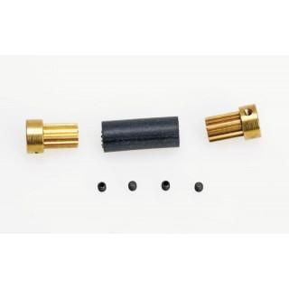 Flex-spojka 12mm pro průměr hřídele 3,0mm na 3,2mm