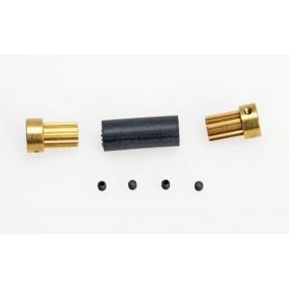 Flex-spojka 12mm pro průměr hřídele 4,0mm na 3,2mm