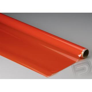 Monokote transparentní 182x65cm oranžový