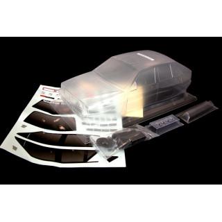 Karoserie čirá Lancia Delta Intergrale, základní nálepky (200mm)