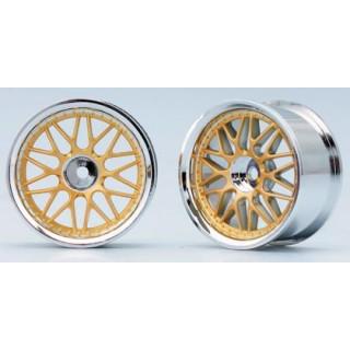 10-paprskové disky (Zlaté)