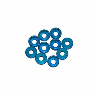 3 mm. alu podložky modré (10 ks.)