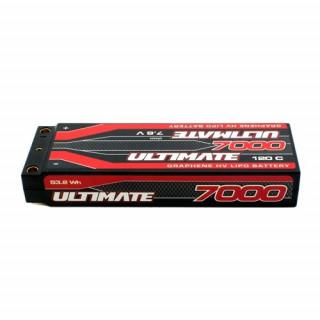 ULTIMATE GRAPHENE HV LiPo Hardcase 7000mAh 7.6V 120C G5