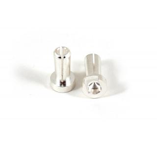 Low-Profile Bullet G4 stříbrné konektory, 2 ks.