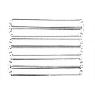 XXX Main - Airbrush šablona - Skinny proužky