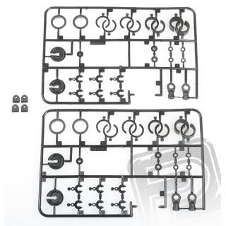 Plastové díly tlumiče, EK-4,EB-4 S2