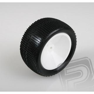 Zadní gumy nalepené 2wd/4wd, bílé disky, AT-10