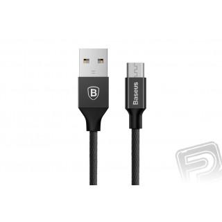 Baseus Yiven datový kabel Micro černý (délka 1,5 m)