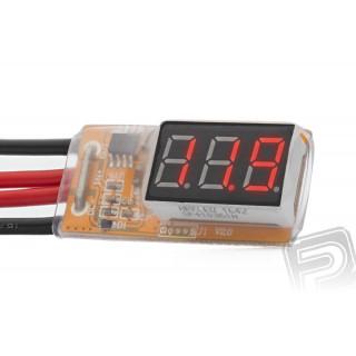 Měřič proudu a napětí do 30A/25V