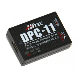 DPC-11 Univerzální programátor serv Hitec s PC rozhraním (mini-USB)