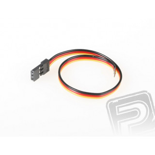 4654 tenký servokabel 180mm (PVC)