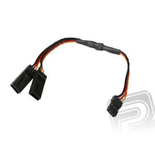 7351 V-kabel krátký Hitec/JR (PVC)