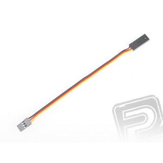 4603 S prodlužovací kabel 150mm JR plochý silný, zlacené kontakty (PVC)