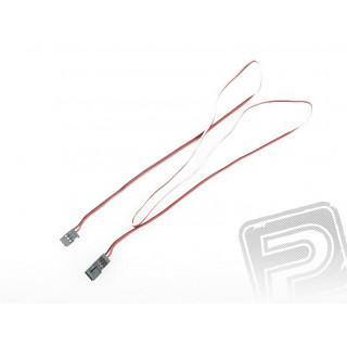 4606 J prodlužovací kabel 900mm Futaba plochý silný, zlacené kontakty (PVC)