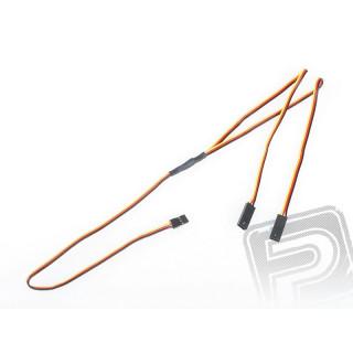 """4702 S """"Y""""-kabel JR plochý silný dlouhý 600mm (PVC)"""