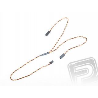 """4704 S """"Y""""-kabel JR kroucený silný dlouhý 600mm (PVC)"""