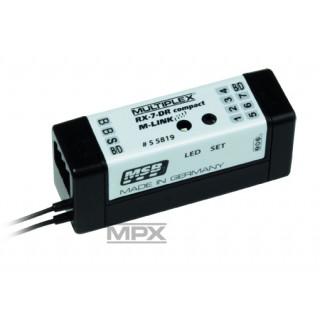55819 Přijímač RX-7 DR compact M-LINK 2,4GHz