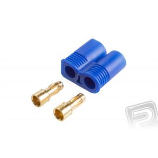 7955 protikus konektor LRP (EC3) samec (2ks + domeček)