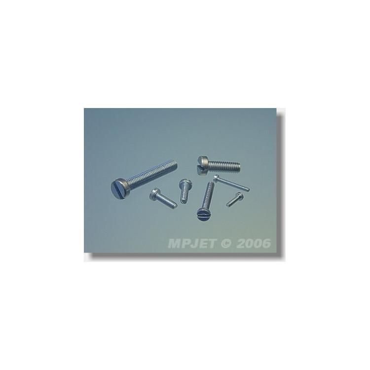 0202 Šroub s válcovou hlavou M1,6x8 10 ks