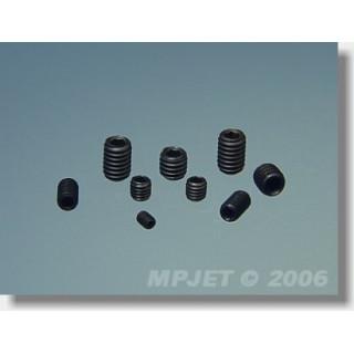 0446 Stavěcí šroub imbus M2x2,5 4 ks