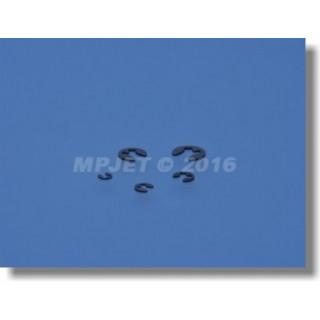 0753 Pojistný třmenový kroužek 3,2mm 10 ks