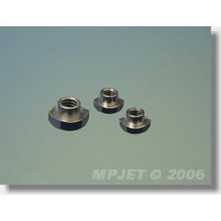 1036 Matice s ozuby M4 4 ks