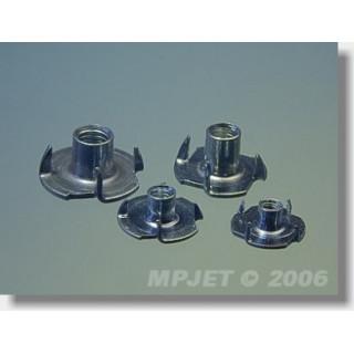 1203 Zapichovací matice M4 10 ks