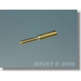 2016 Spojka M2, pr.1,3mm (vnější O 3, l,22 mm) 2 ks