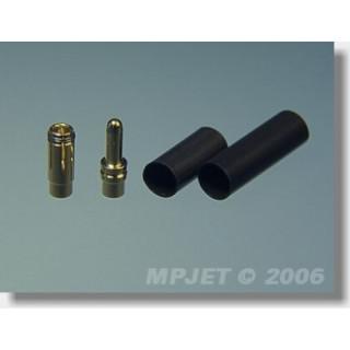 21020 Konektory MP JET gold 2,5 pro drát max. 1,5 mm2- 2 páry