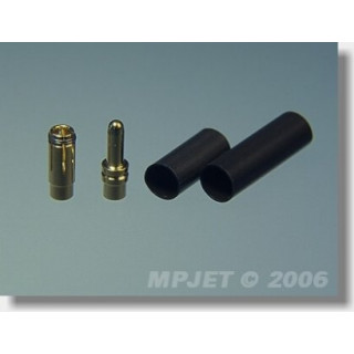 21030 Konektory MP JET gold 3,5 pro drát 2,5 mm2- 2 páry