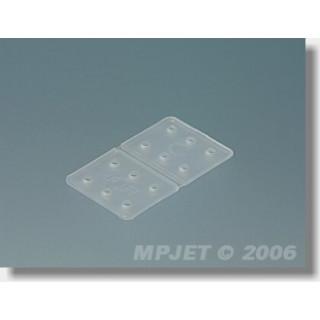 2515 Ohybací závěs 16x28 mm 12 ks