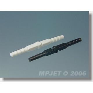 2533 Hmoždinkový závěs, 3,5x48 mm Černý 12 ks