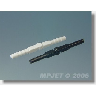 2533 Hmoždinkový závěs, 3,5x48 mm Bílý 12 ks