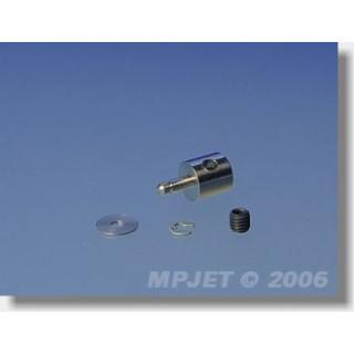 2757 Koncovka táhla pr.2mm pro páku tl.2mm 6 ks