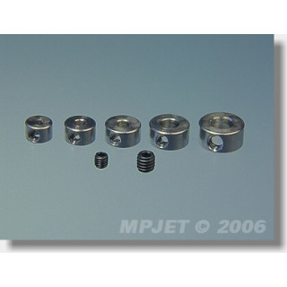 2802 Stavěcí kroužek mosaz 3 mm 4 ks