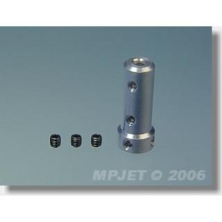 2880 Těleso pro dvoukolový příďový podvozek pr.3mm