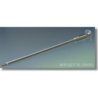 "52154 Hřídel COMPACT pro elektromotor ""400"", hřídel pr.3mm, M3, délka 200 mm"