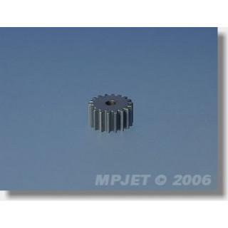 8080 Pastorek 18 zubů, otvor 2,3mm pro převod 3,33:1, modul 0,5