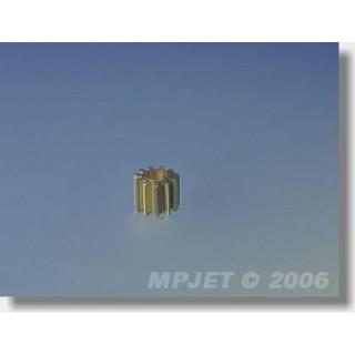 8203 Pastorek 9 zubů, otvor 2mm modul 0,5, pro MPJ 8202
