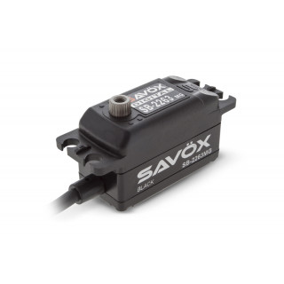 SB-2263MG BRUSHLESS Black Edition servo - LOW PROFILE (10kg)