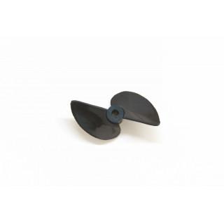 Závodní lodní šroub 2 listý, pravý, stoupání 56mm, 57,0mm/DD
