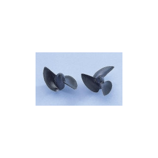 Závodní lodní šroub 2 listý, pravý, stoupání 40mm, 26,0mm/M2