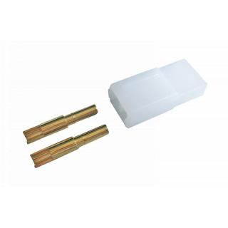 AMP GOLD G2, 2-pol, samičky, balení s 25 ks. (cena za celé balení)